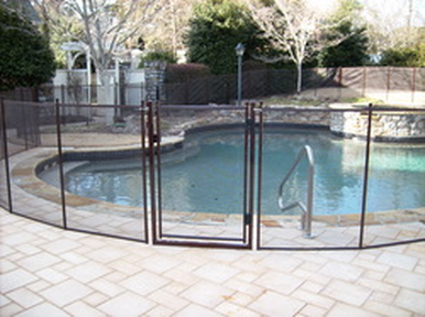 Bronze color pool gate Tampa