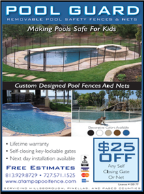 pool fence coupon and discounts in Tampa, Clearwater fl