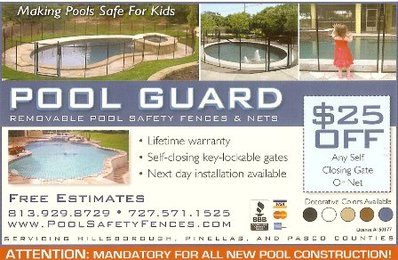 discount pool fence coupon in Tampa, clearwater, West chase fl